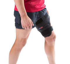 Thigh Wrap - Cold / Hot Sports Injury Wrap - Cool Down Australia - 1