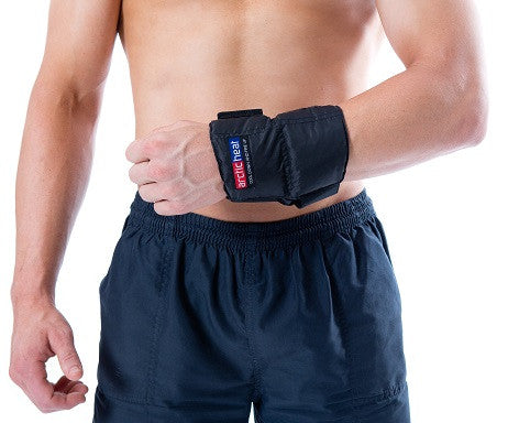 Wrist Wrap - Cold / Hot Sports Injury Wrap - Cool Down Australia - 1