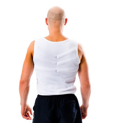 BODY COOLING VEST - White - Cool Down Australia - 3