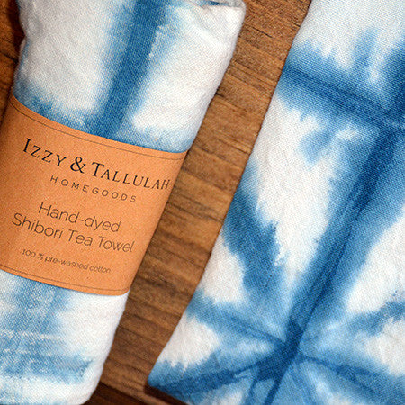 Shibori Tea Towels