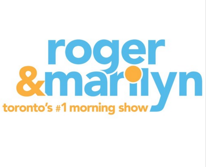 We have been on the radio - roger & marilyn - toronto's #1 morning show