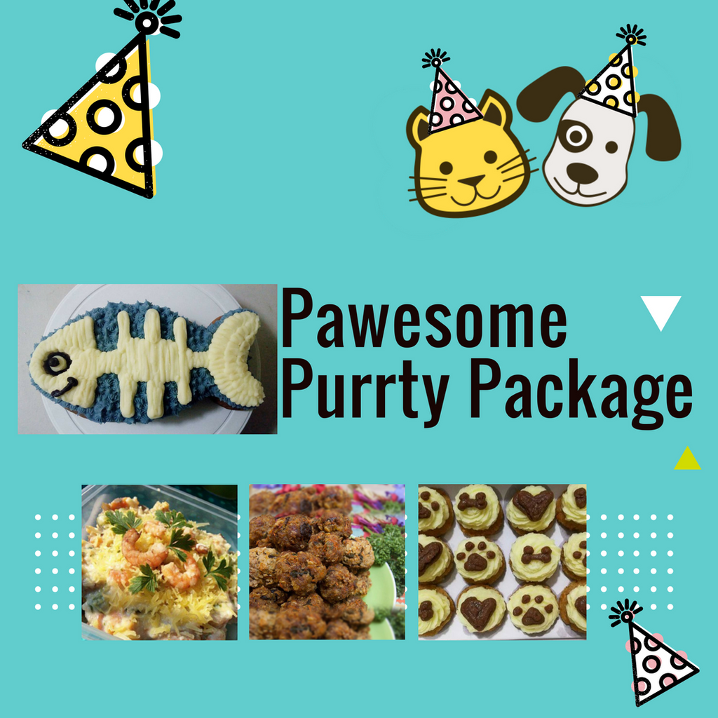 Pawesome Purrty Package - for Cats