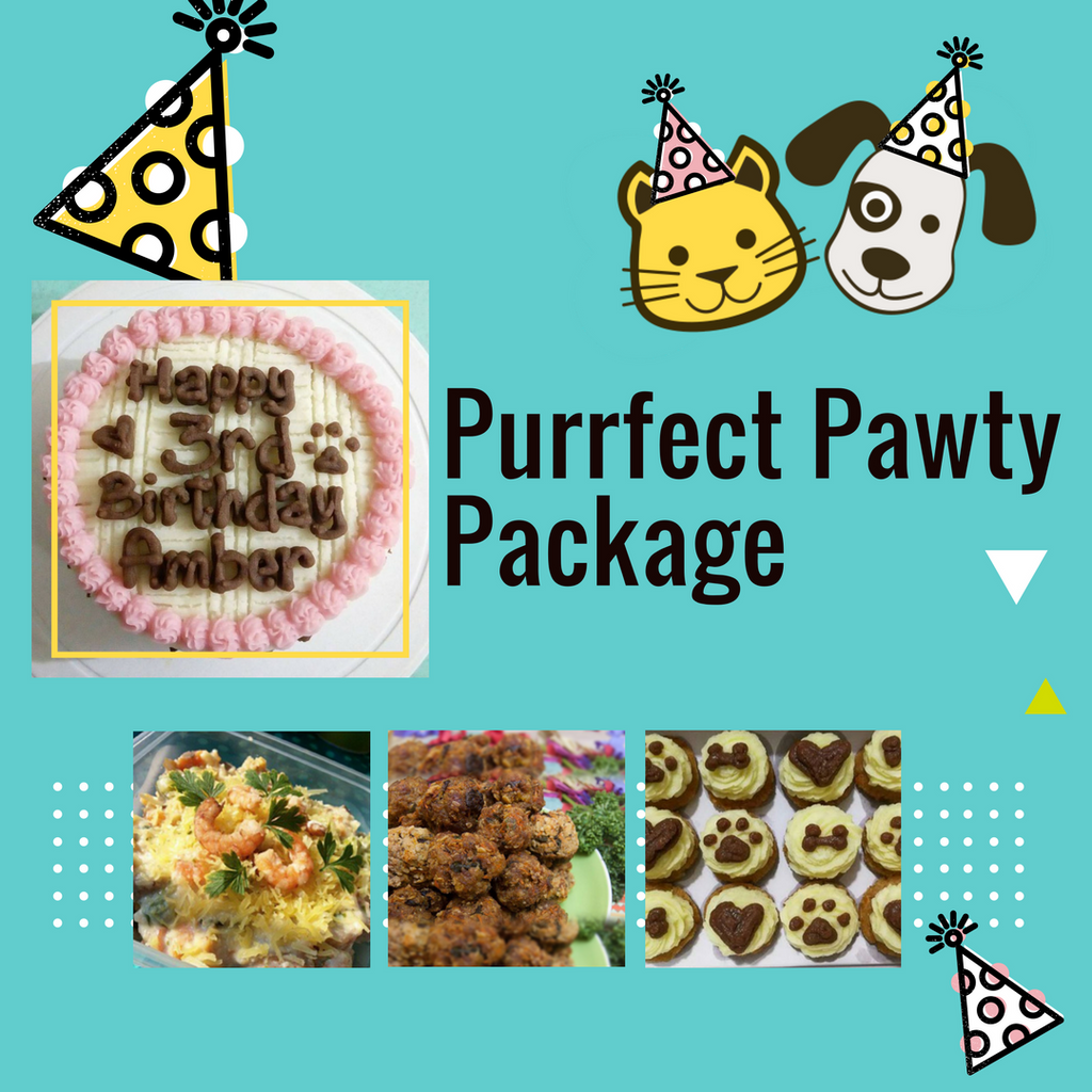 Purrfect Pawty Package - for Cats