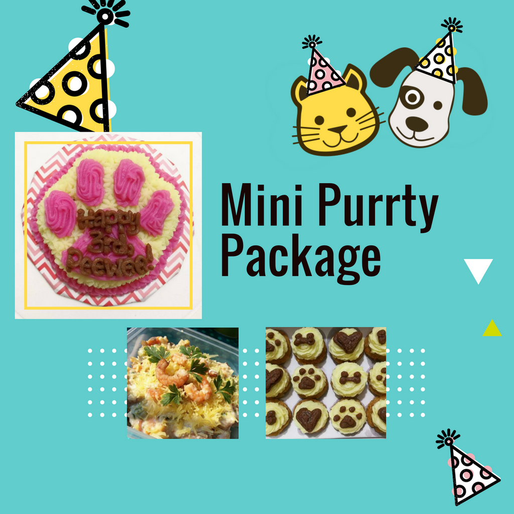 Mini Purrty Package - for Cats