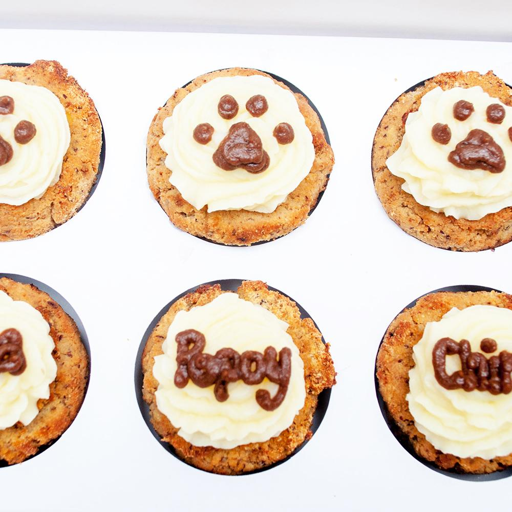 6pcs Big Pupcakes