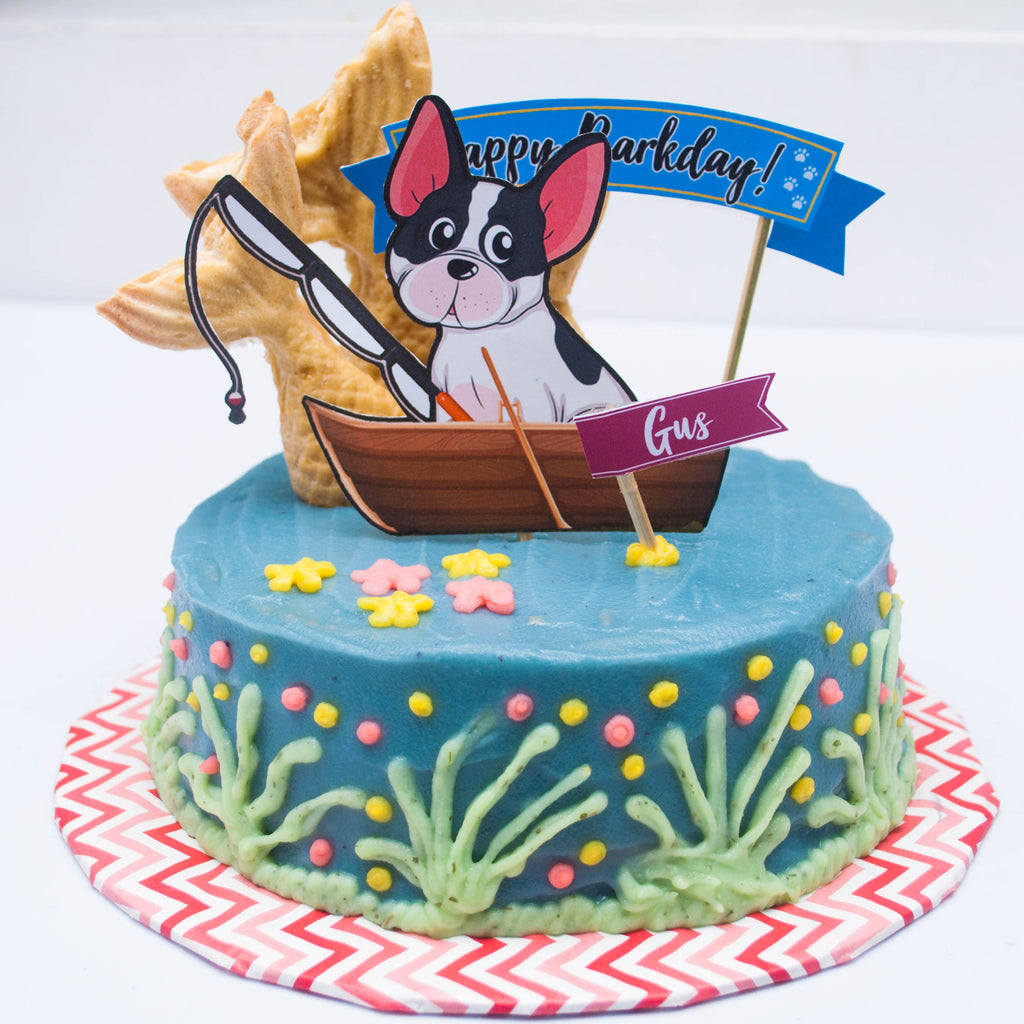 Gone Fishing Cake 6inch