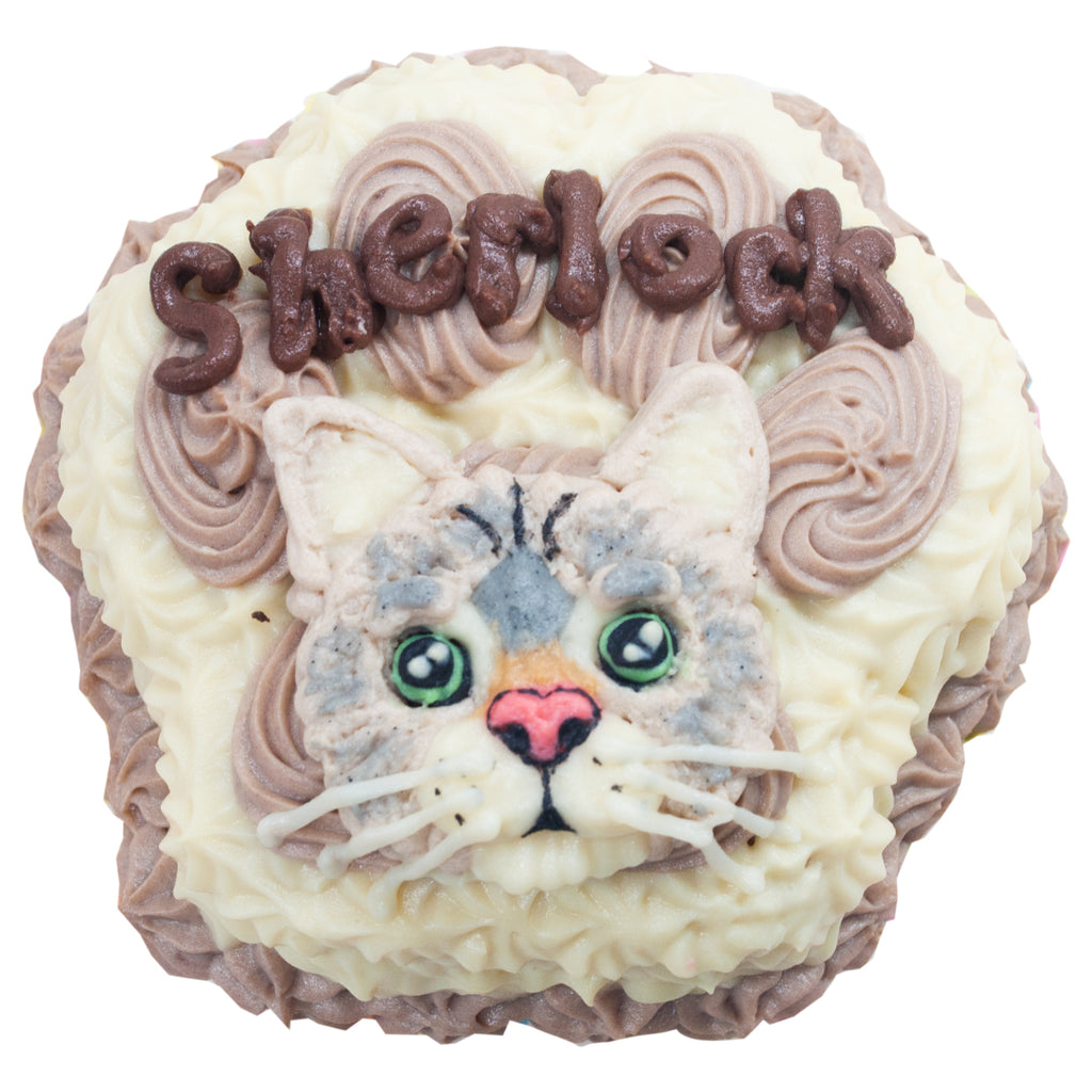 Small Paw Cake with Portrait for Cats - 4inch - Starts at ₱340