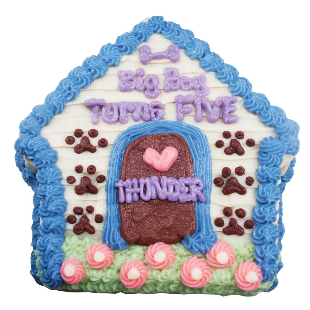 Dog House Cake -  8 inches