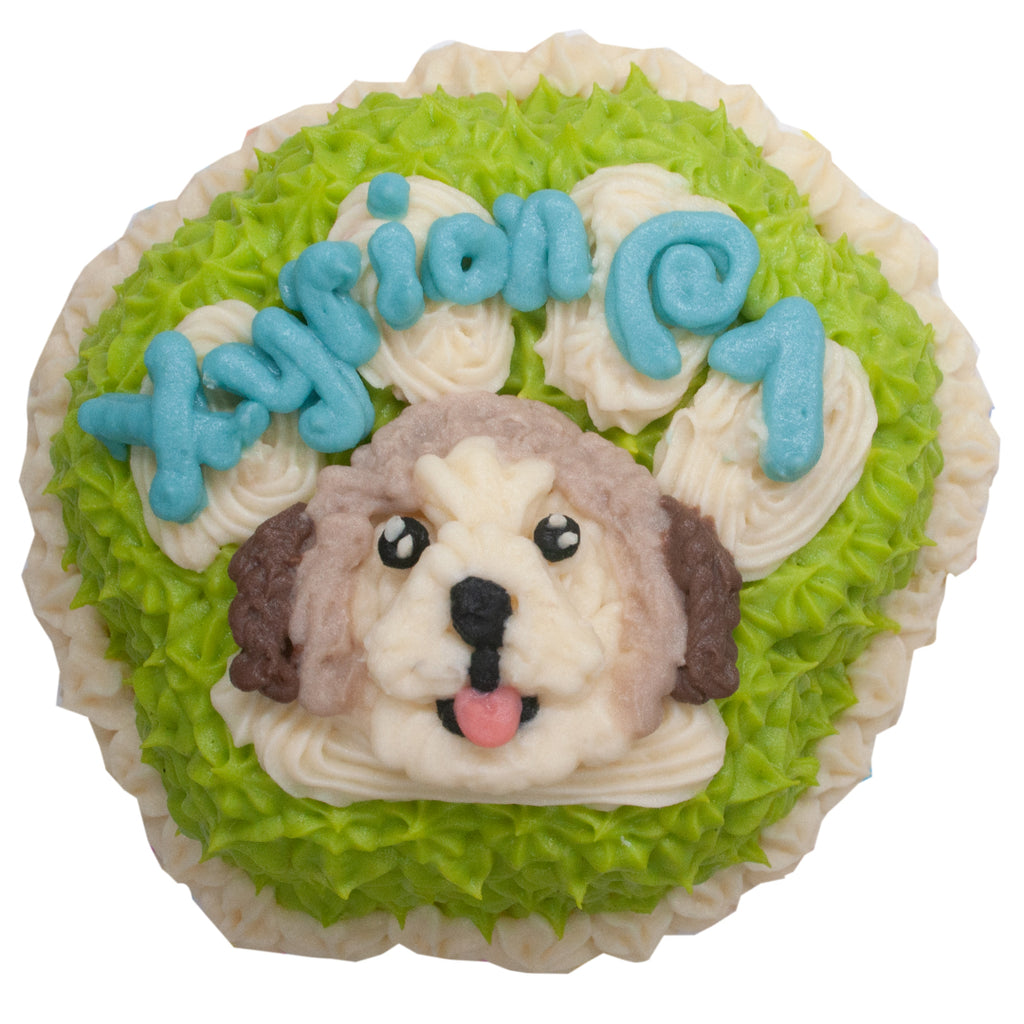 small paw cake for pets