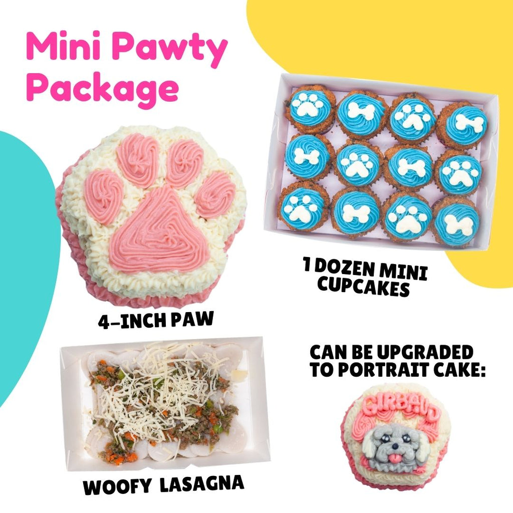 Mini Pawty Package - for Dogs - Starts at ₱560