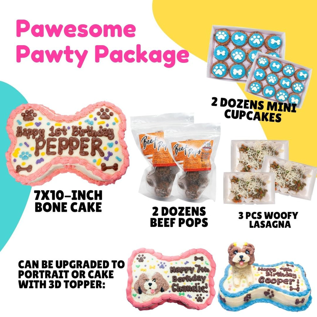 pawesome party package for pets