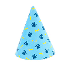 Pawty Hat - Blue Bone and Paw