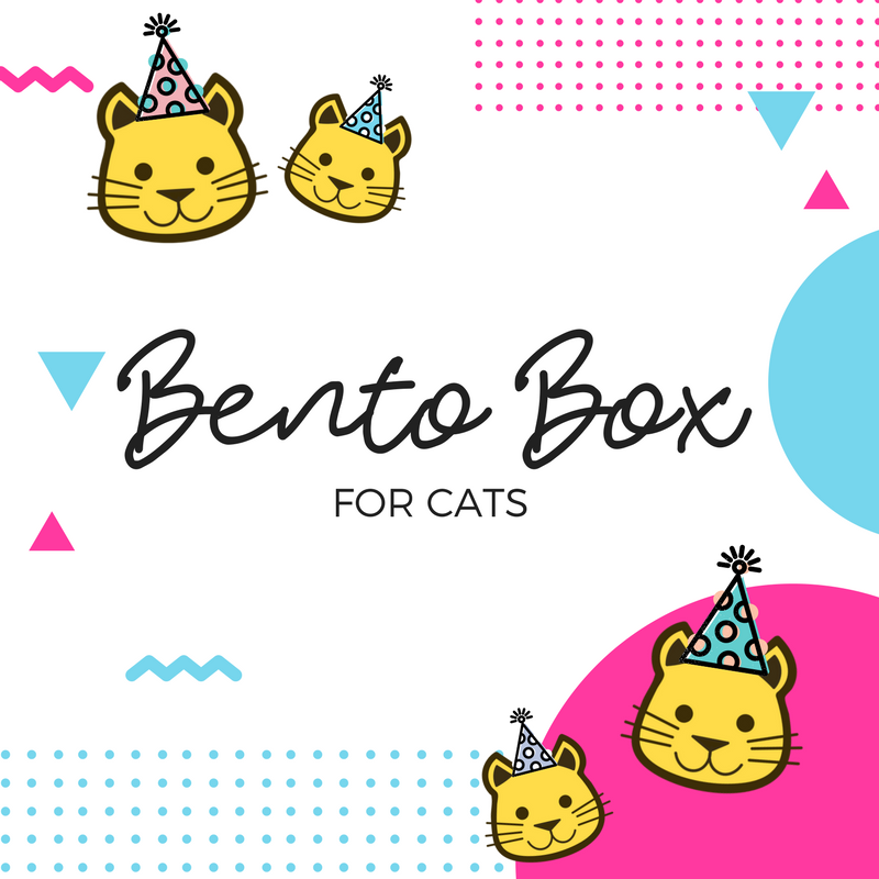 Bento Box - Cats (Minimum 3pcs)