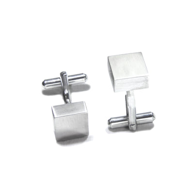 Square Block Cuff Links