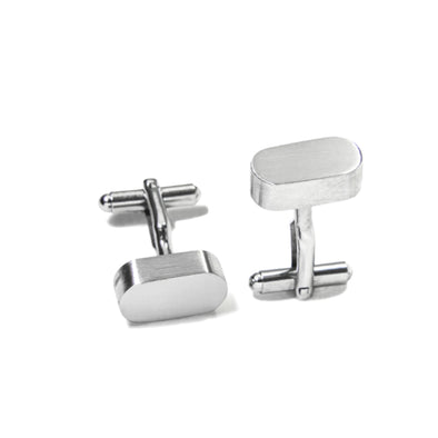 Pill Shape Cuff Links