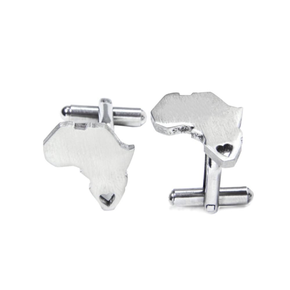 DF 401 - Africa Heart Cuff Links