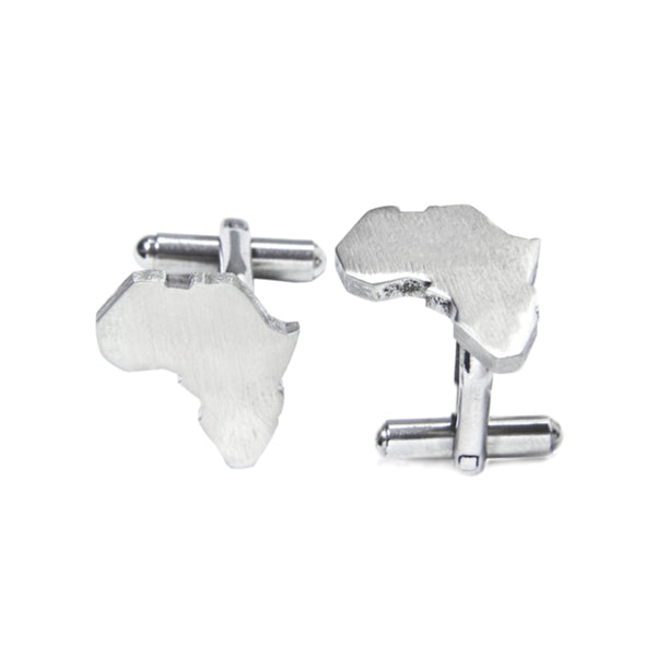Africa Map Cuff Links