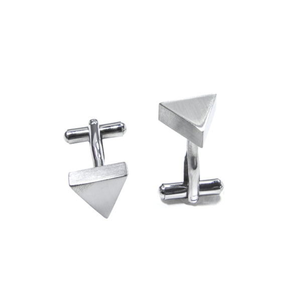 Triangle Shape Cuff Links