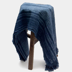 Bamboo NIght Forest Ramie Throw