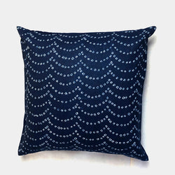 Wave Shibori Cushion