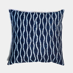Waterfall Shibori Cushion