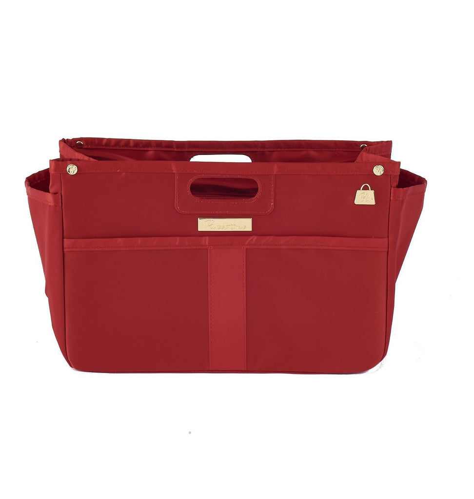 Scarlet Red Purse Organizer for LV (Large)