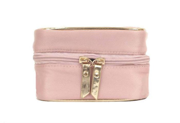 Travel Jewelry Case - Rose Petal Pink