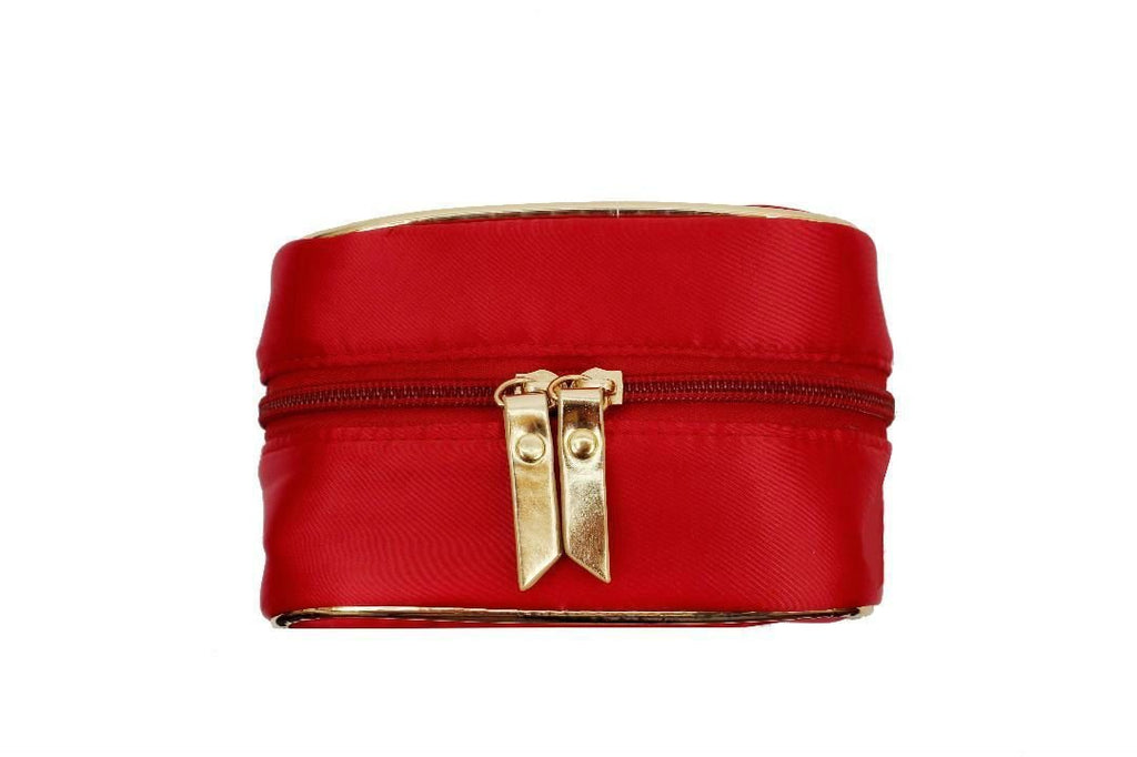 Travel Jewelry Case - Scarlet Red