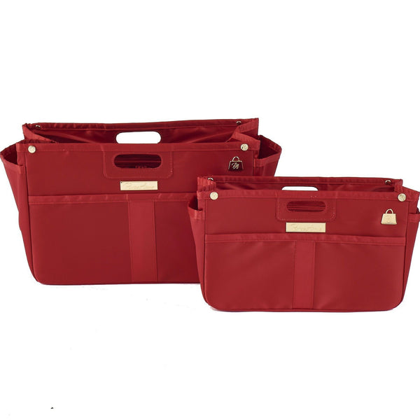 Scarlet Red Purse Organizer Set for LV (Small and Large)
