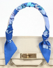 Twilly Scarf in Vibrant Blue