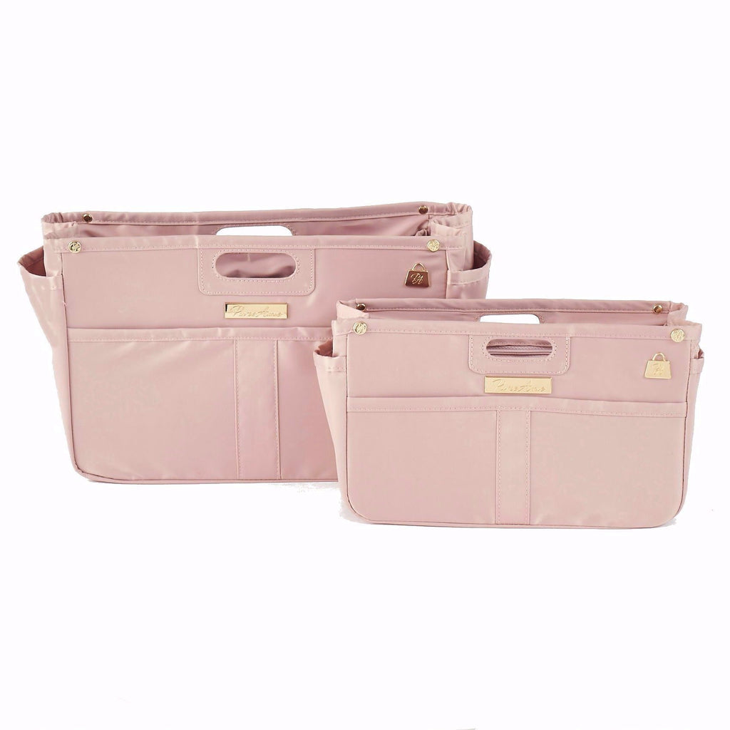 Rose Petal Pink Purse Organizer Set for LV (Small and Large)