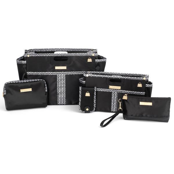 Classic Glamour Black and White 5 Piece Gift Set