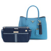 Oxford Blue Purse Organizer Set (Small and Large)