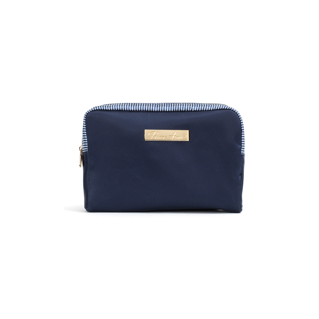 Oxford Blue Petite Makeup Bag