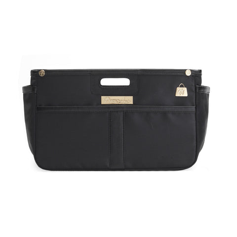 Noir Black Purse Organizer (Small)