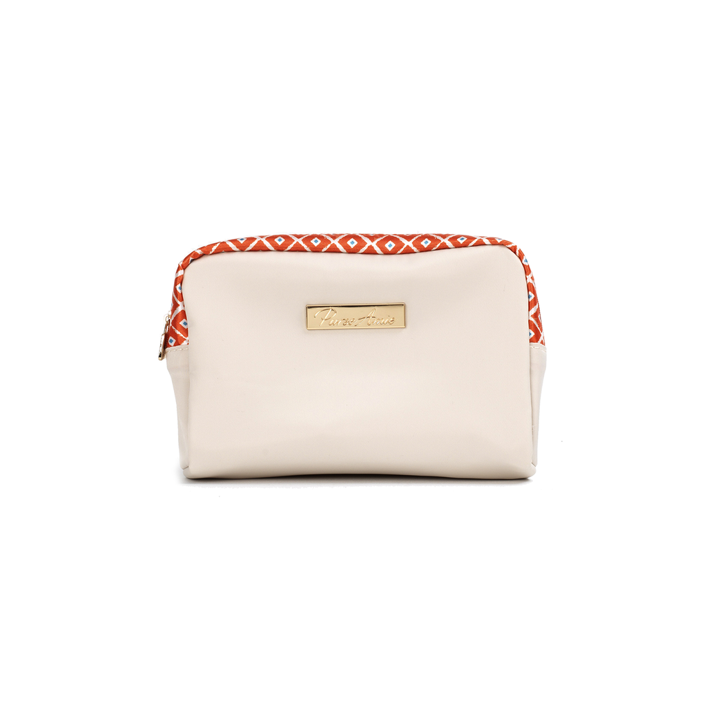 Orange Enchantment Petite Makeup Bag