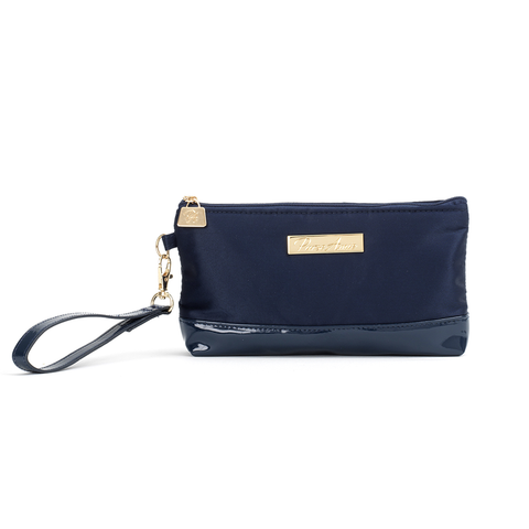 Oxford Blue Wristlet Change Purse