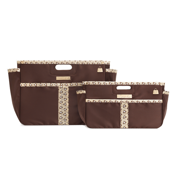 Sweetheart Brown Purse Organizer Set for LV (Small and XL)