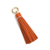 Tassel Bag Charm In Orange