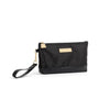 Noir Wristlet Change Purse