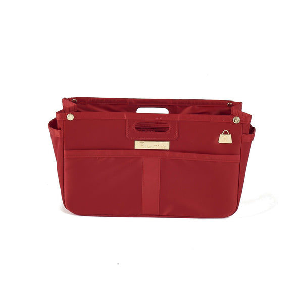 Scarlet Red Purse Organizer for LV (Small)