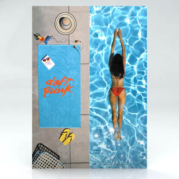 DA FUNK PREMIUM BEACH TOWEL ADVERT POSTER