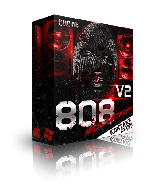808 Massacre V.2 Kontakt Bank