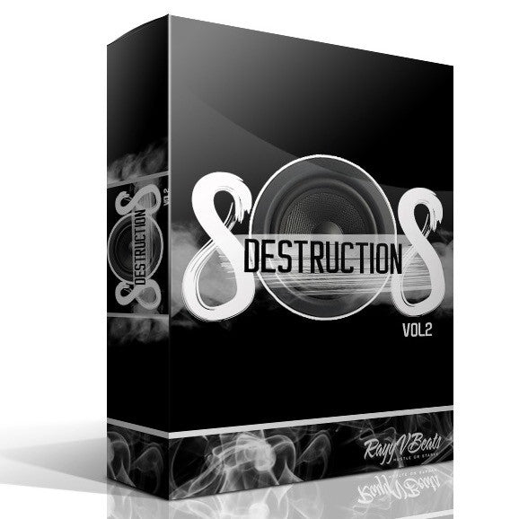 808 Destruction Vol.1  Drum Samples