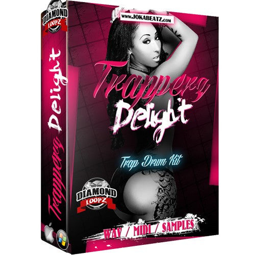 Trapperz Delight Drumkit & Midi Loops