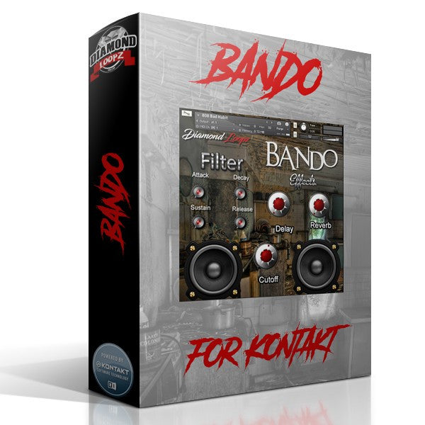 Bando Trap Bank For Kontakt