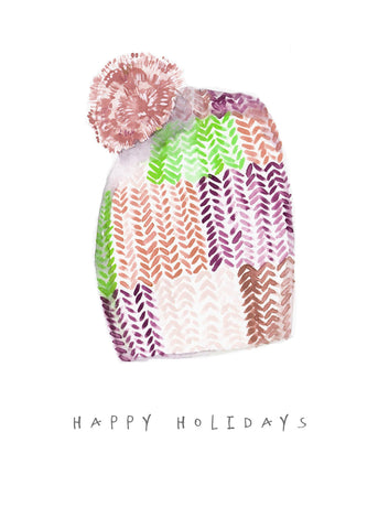 Beanie Knit Card Set - Holidays 2017
