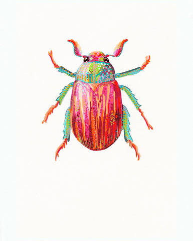 Flower Chafer Beetle 1 - Little Bugs Collection