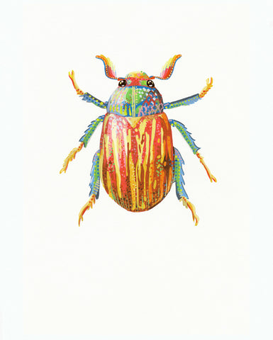 Flower Chafer Beetle 2 - Little Bugs Collection