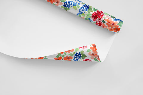 American Beauty Wrapping Paper - Wildflowers Collection